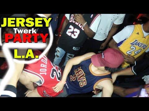 Super Lit Jersey Twerk Party in Downtown L.A.