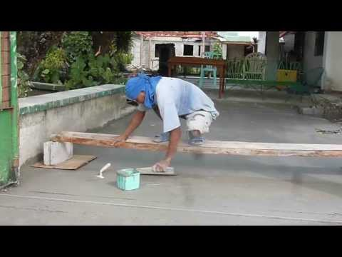 Driveway slope leveling c youtube for Sloped driveway options