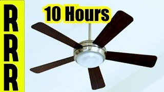 CEILING FAN FAN NOISE | BEDROOM FAN SOUNDS FOR SLEEPING 10 HOURS