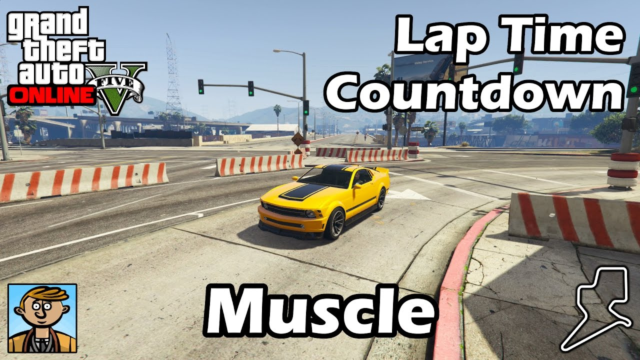 fastest muscle cars (2017) - gta 5 best fully upgraded cars lap time