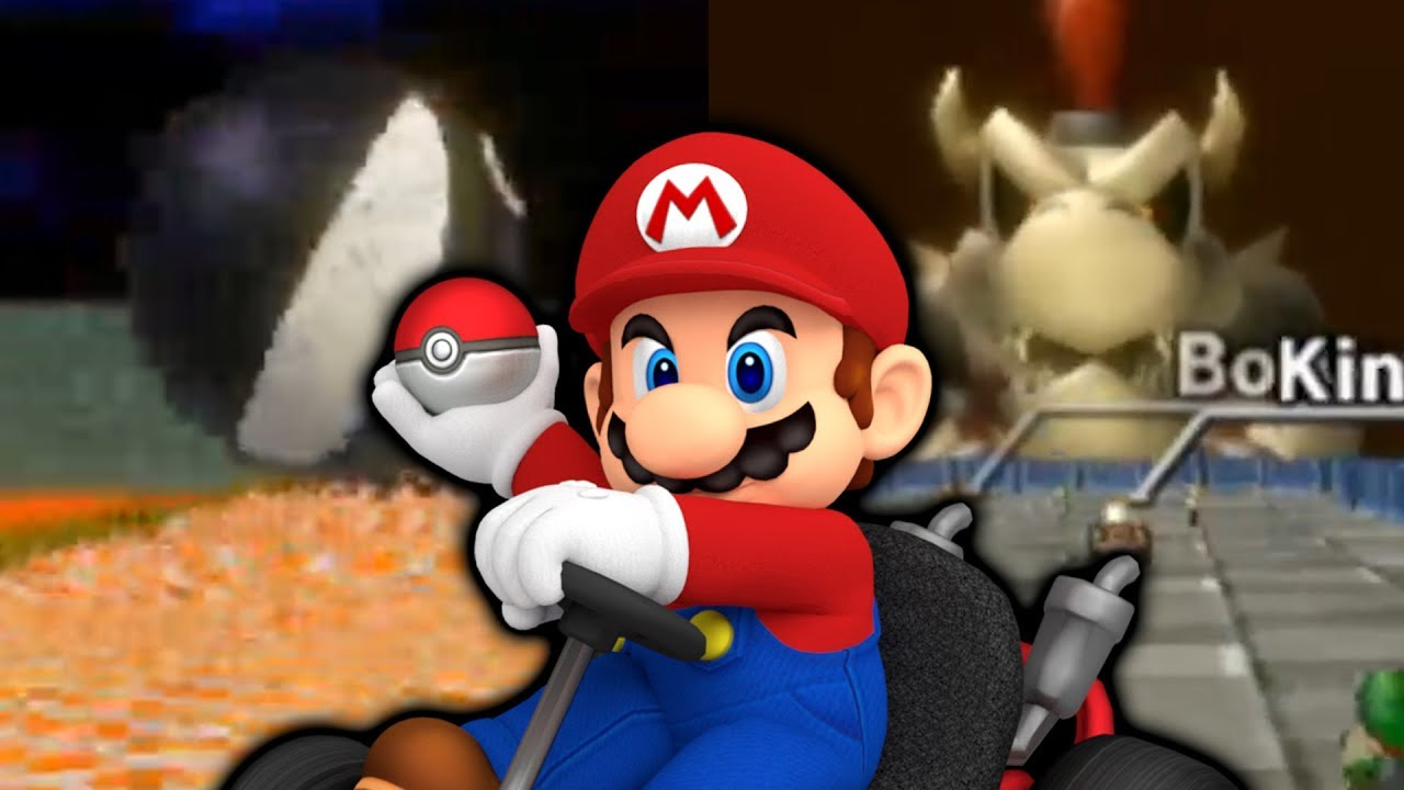 Mario Kart Wii but ALL Bowser Castle Tracks!