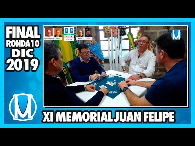 PARTIDA DE MUS - Final del XI Memorial Juan Felipe 2019 R10