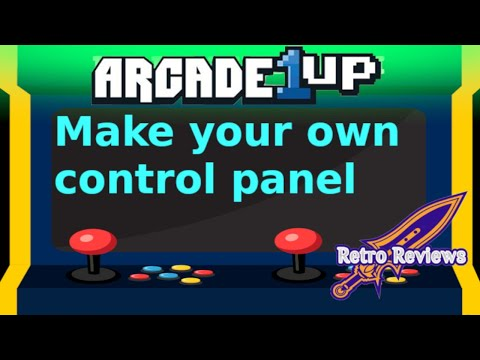 Build your own Arcade 1up control panel from RetroReviews