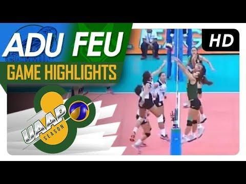 UAAP 80 WV: AdU vs. FEU | Game Highlights | April 7, 2018
