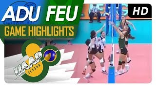UAAP 80 WV: AdU vs. FEU | Game Highlights | April 7, 2018