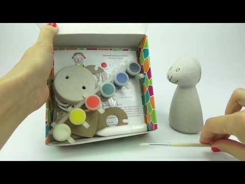 Рукоделие для детеи  Раскрашиваем овечку  Распаковка игрушки  Развивающее видео для малышеи