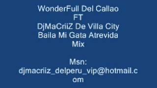 WonderFull FT DjMaCriiZ Villa y Callao  Baila Mi Gata Atrevida Mix 2011 HD