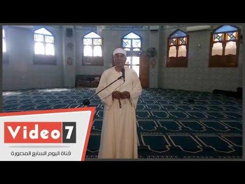 الشيخ عبد الفتاح الطاروطى يهدى قراء اليوم السابع الأذان بصوته
