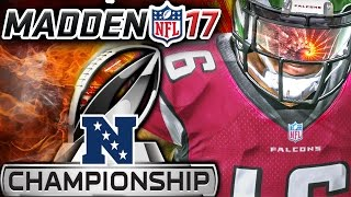 Madden 17 Franchise Mode NFC Championship Game - Atlanta Falcons vs Dallas Cowboys