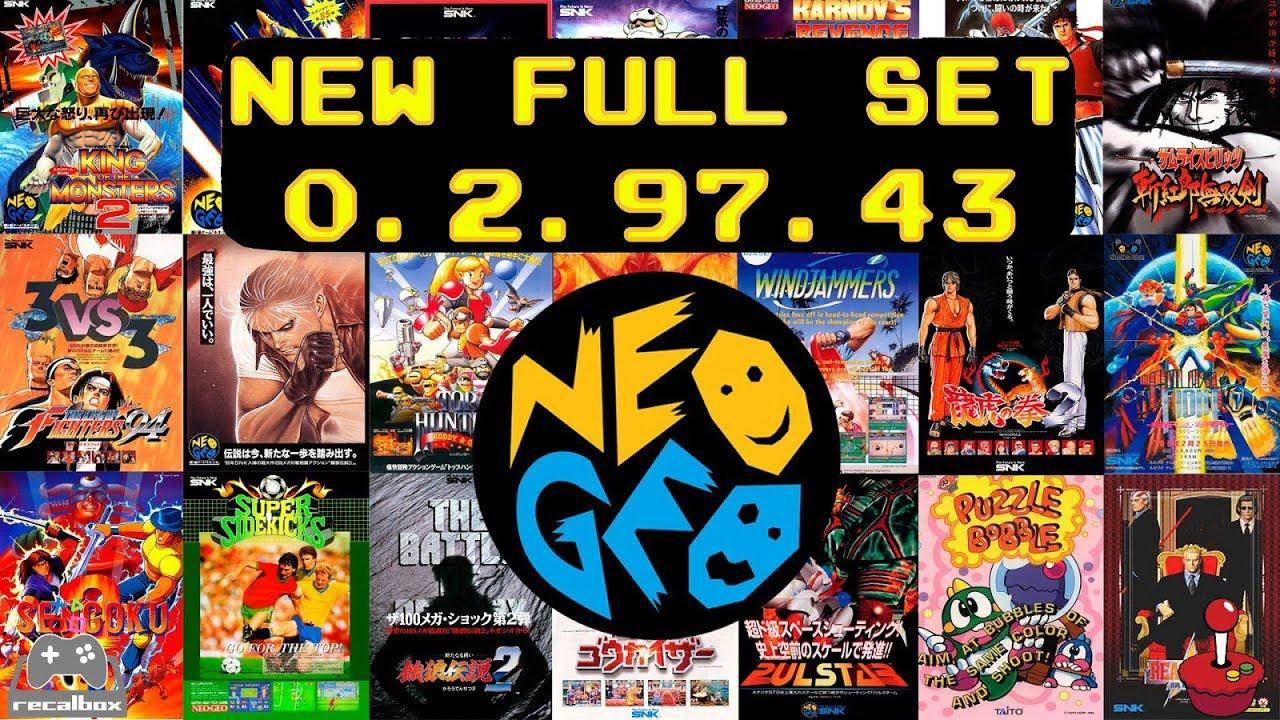 complete neo geo rom set