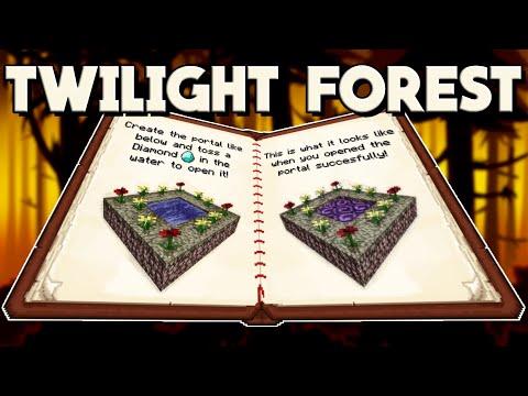 Twilight Forest Mod Showcase For Minecraft 1.12.2