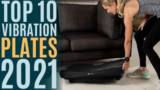 Top 10: Best Vibration Plate Exercise Machines of 2021 / Vibration Platform for Weight Loss, Fitness