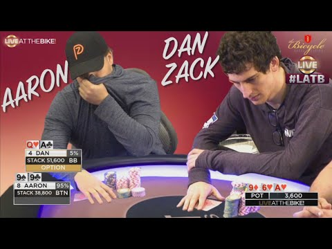 Flopped Set Goes For Max Value vs Crazy Person ♠ Live at the Bike!