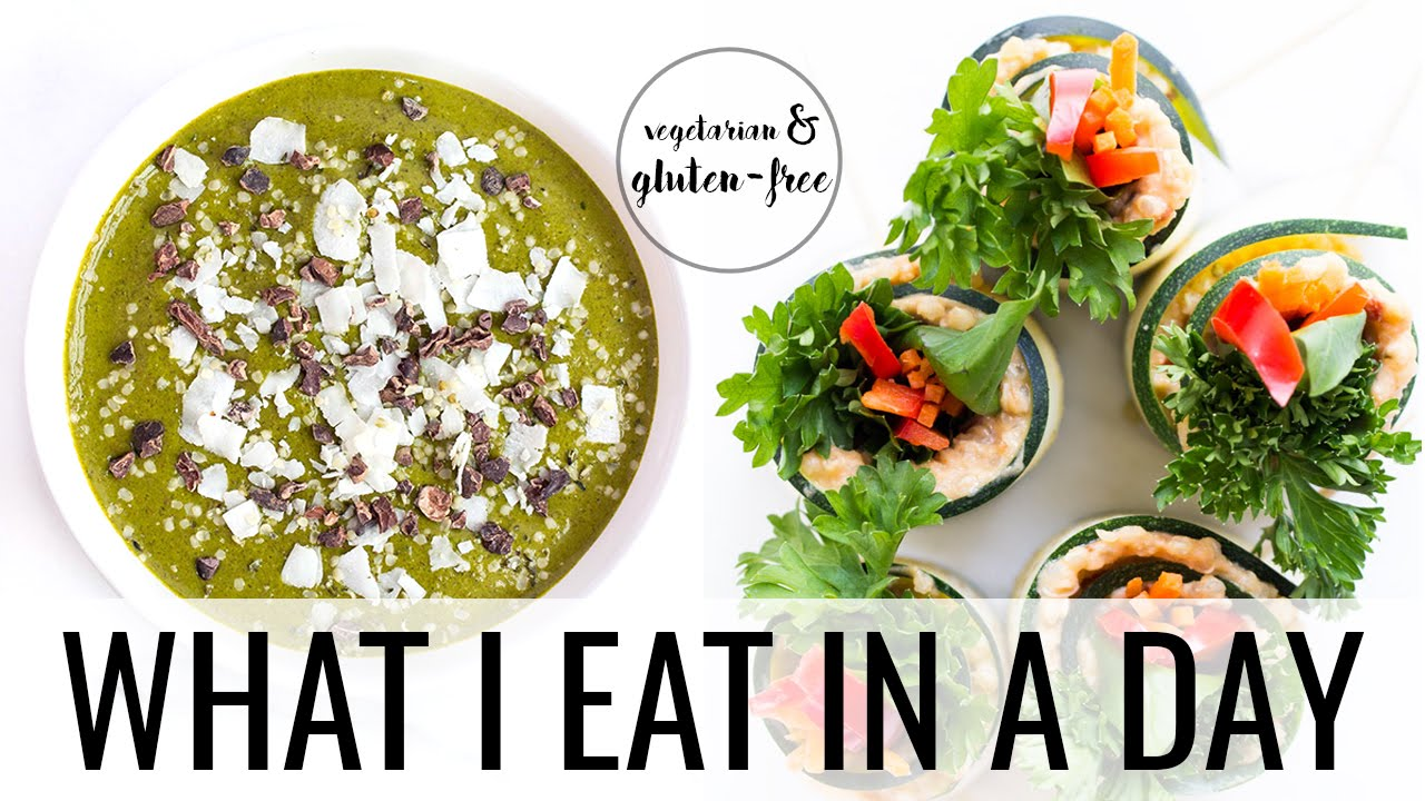 3. WHAT I EAT IN A DAY | Plant-Based + Gluten-Free