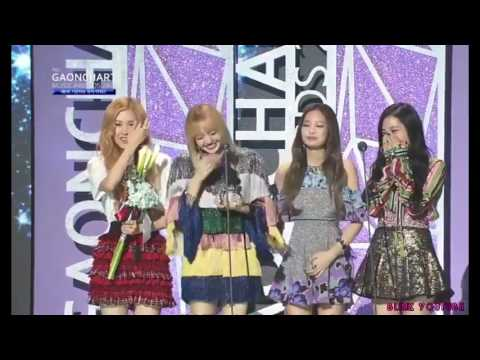 [ENG SUB] BLACKPINK Lisa Thai & Korean Speech For Artist of the year @ 6th Gaon Music Awards