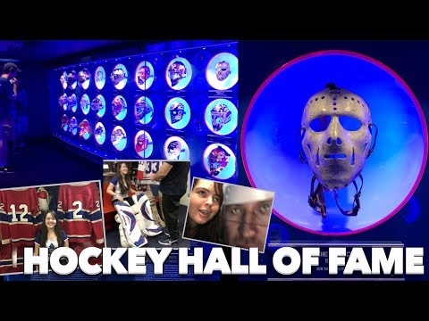 My First Time At The Hockey Hall Of Fame In Toronto!