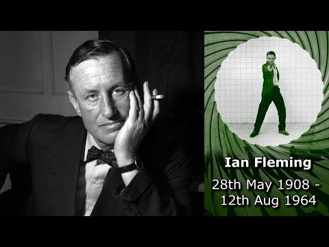 Remembering Ian Fleming: 28th May 1908  12th Aug 1964