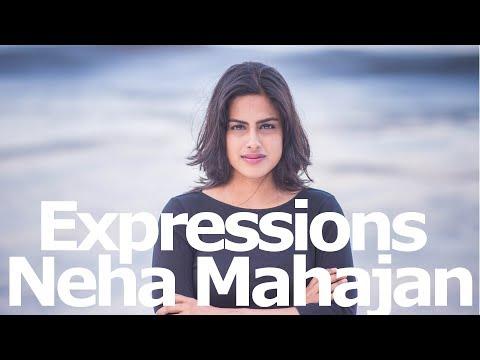 Neha Mahajan's expressions