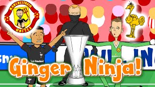 Manchester United vs Liverpool 1-1 -GINGER NINJA! Paul Scholes Rant! Coutinho Goal! Europa League