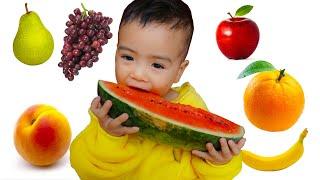 Johny Johny Sí Papá Canciones Infantiles, Johny Johny Fruit version Spanish - Tri Kids TV