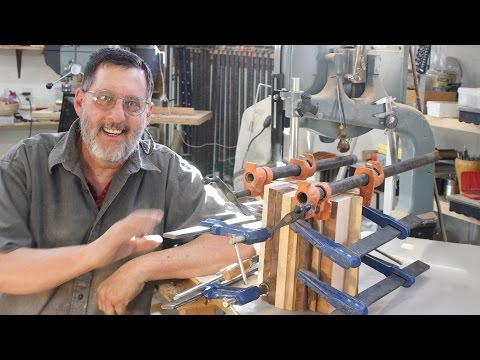 Segmented Sphere:  The Glue-up,   woodturning (part 1)