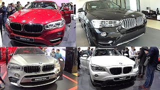 Best 2016, 2017 BMW luxury SUVs: X1, X3,  X5, X6