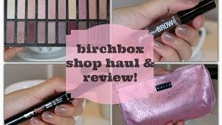 Birchbox Shop Haul & Review | Benefit, Coastal Scents & Mally Beauty! Thumbnail