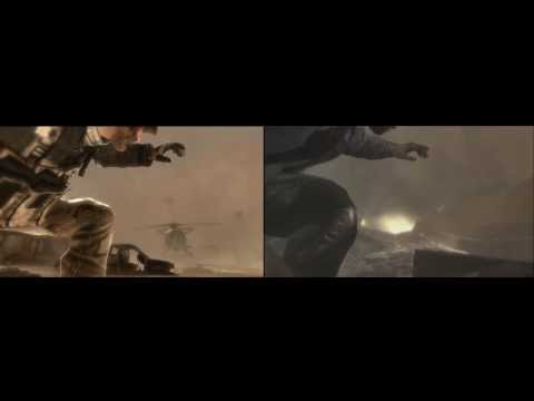 Call of Duty: Ghosts appears to borrow cutscene animations from Modern Warfare 2