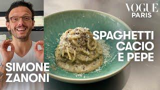 The best Cacio e Pepe recipe by Michelin starred chef Simone Zanoni  Vogue Kitchen  Vogue Paris