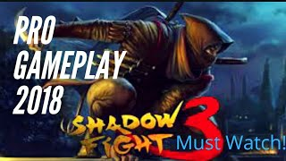 Shadow fight PRO Gameplay - SHADOW VS MONKEY || 2018 best Pro Shadow fight Funny commentry music ||