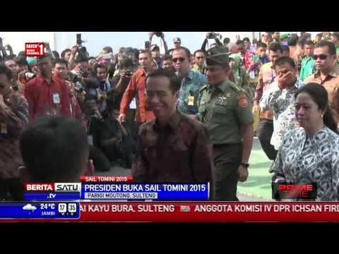 Presiden Jokowi Resmi Membuka Sail Tomini 2015