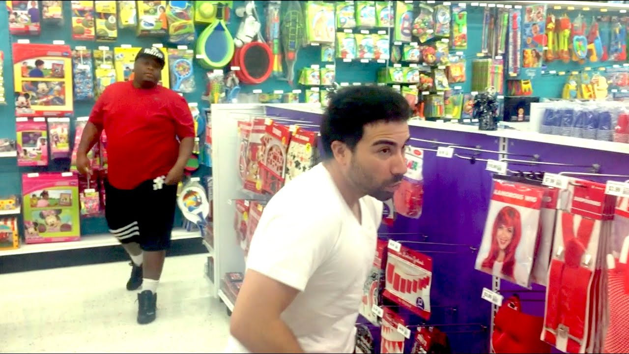 CAUGHT STEALING in the store! - YouTube