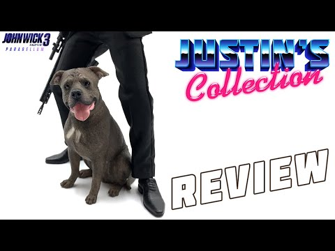 Mr.Z 1//6 American Staffordshire Terrier Dog Figure John Wick Animal Model Toys