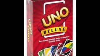 Uno Deluxe Kutu Açılımı