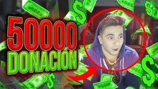 MOMENTOS EPICOS DE STREAM #10 - DONACION 50MIL BITS thumbnail