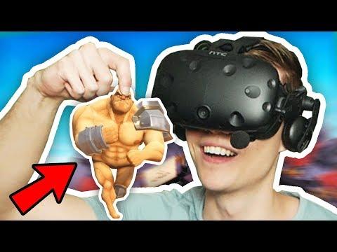 I AM THE BIGGEST GLADIATOR IN GORN VR (GORN Gladiator Simulator Funny Gameplay)