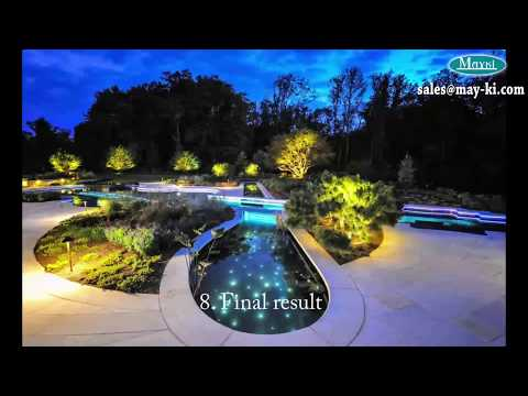 Swimming Pool Fiber Optic Light Kit And How To Install Pool Star Sky Light By May Youtube