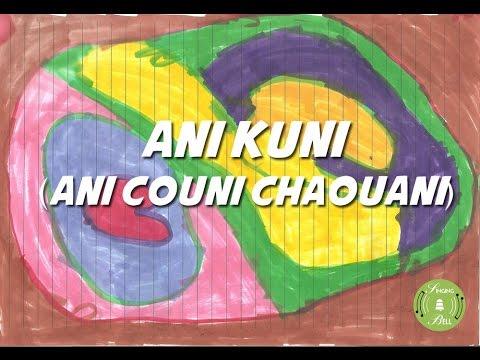 Ani Couni Chaouani (Ani Kuni) (instrumental - lyrics video for karaoke)