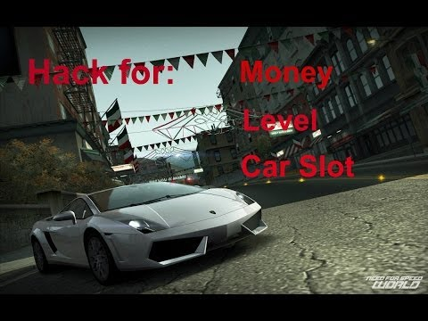 NFS World Hack For Money, Level And Car Slot