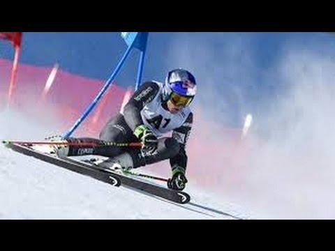 Горные лыжи. Alpine Skiing World Cup. Men's Super G. Kvitfjell, Norway. Norske språket