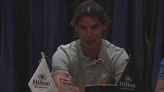 Rafael Nadal and David Ferrer look ahead to Peru exhibition match