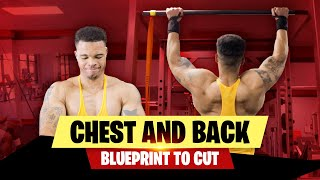 ARNOLD SCHWARZENEGGER BLUEPRINT TΟ CUT-DAY 1 CHEST AND BACK WORKOUT-BLUEPRINT TRAINING PROGRAM