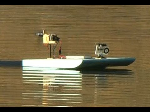 Cheap and Easy RC Airboat Build - YouTube