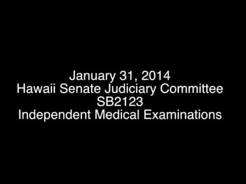 HAWAII INSURANCE TRY STALLING SENATE ON IME BILL