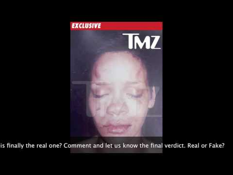 Rihanna Abuse Pics - PHOTOSHOPPED?