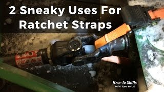 2 Sneaky Uses For Ratchet Straps!
