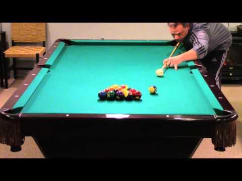AZbilliards straight pool challenge #1