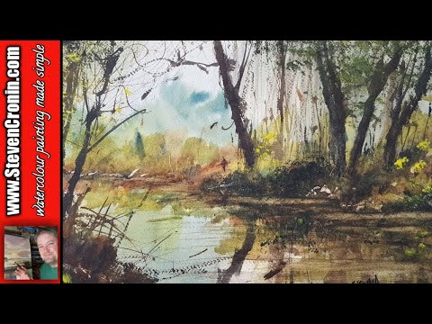 Cuckoo's Nook Watercolour Tutorial