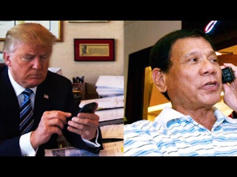 LEAKED: Trump Congratulates Duterte On Slaughtering Drug Users