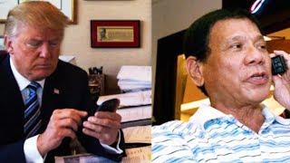 LEAKED: Trump Congratulates Duterte On Slaughtering Drug Users